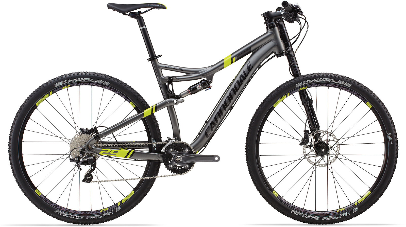 Cannondale Scalpel Carbon Black Inc. (Modelljahr 2016) bei