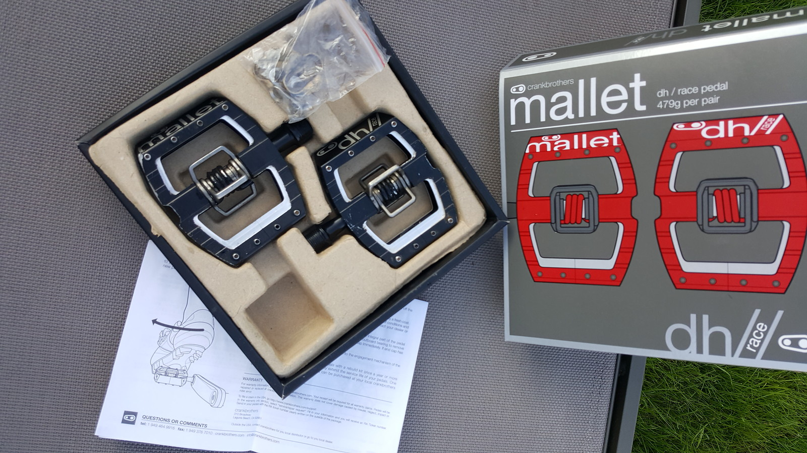 Crankbrothers mallet dh race