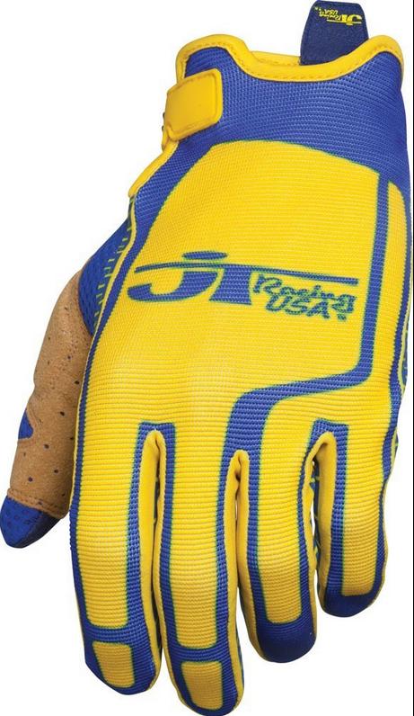 Jt Racing Flex Feel Gloves Blue Yellow XS | Bikemarkt.MTB-News.de