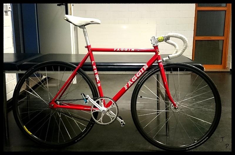 faggin track bike bahnrad rh53 bikemarkt mtb. Black Bedroom Furniture Sets. Home Design Ideas