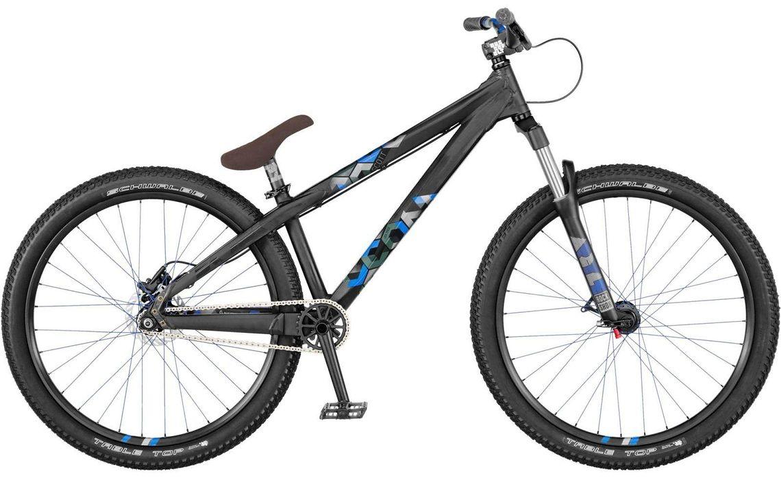 scott voltage yz tmo black blue 2012 26 zoll dirtbike. Black Bedroom Furniture Sets. Home Design Ideas