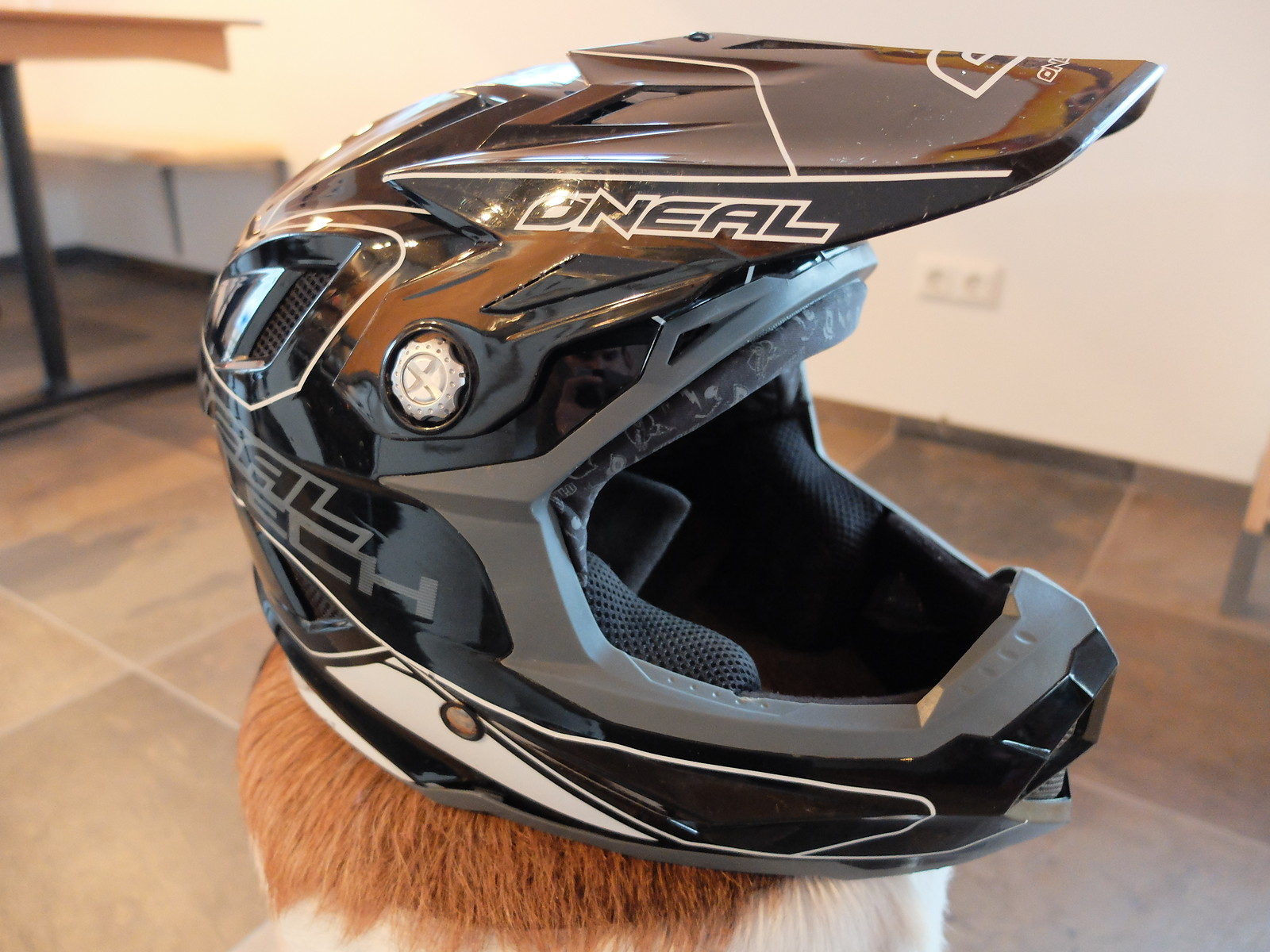 o 39 neal fullface helm dh fr bikemarkt mtb. Black Bedroom Furniture Sets. Home Design Ideas