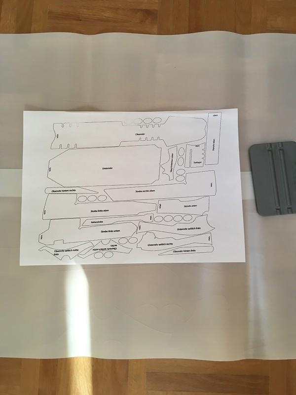 Easy frame rahmen lackschutz folien set sbc stumpjumper for Durchsichtige klebefolie