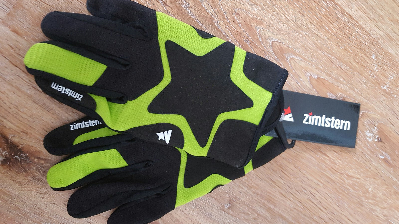 zimtstern draco pro glove handschuhe farbe lime neu gr e l bikemarkt mtb. Black Bedroom Furniture Sets. Home Design Ideas