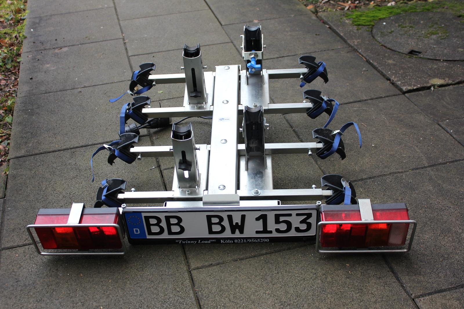 twinny load fahrradtr ger quattro bikemarkt mtb. Black Bedroom Furniture Sets. Home Design Ideas