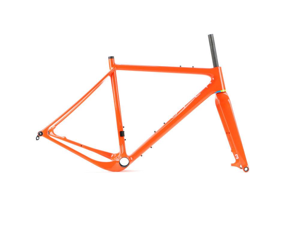 Open Cycles Classic U.P. Gravel Plus Carbon Rahmen / Orange ...