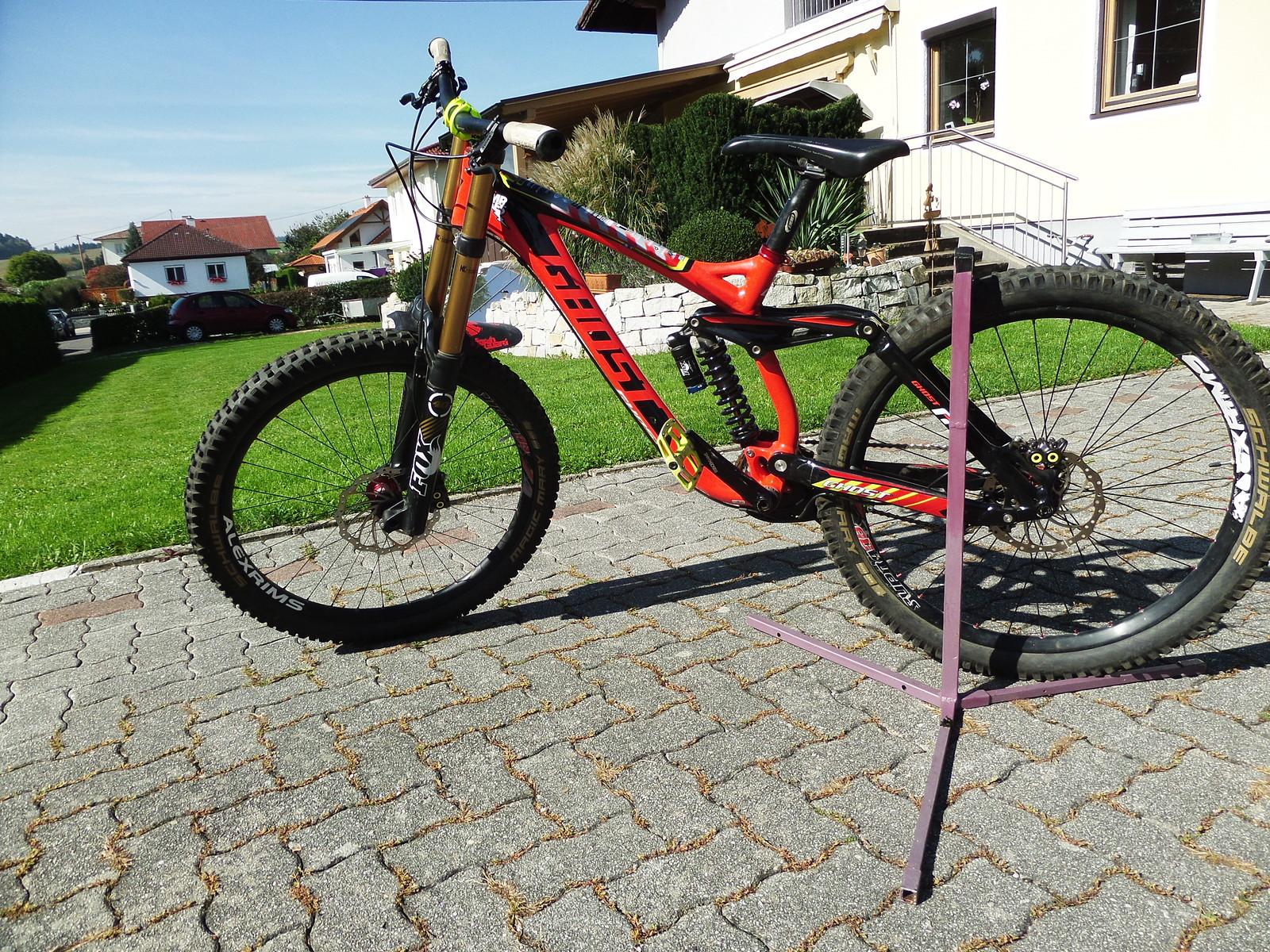 Ghost Northshore Weltcup DH Bike (Marcus Klausmann Edition) Rahmen ...
