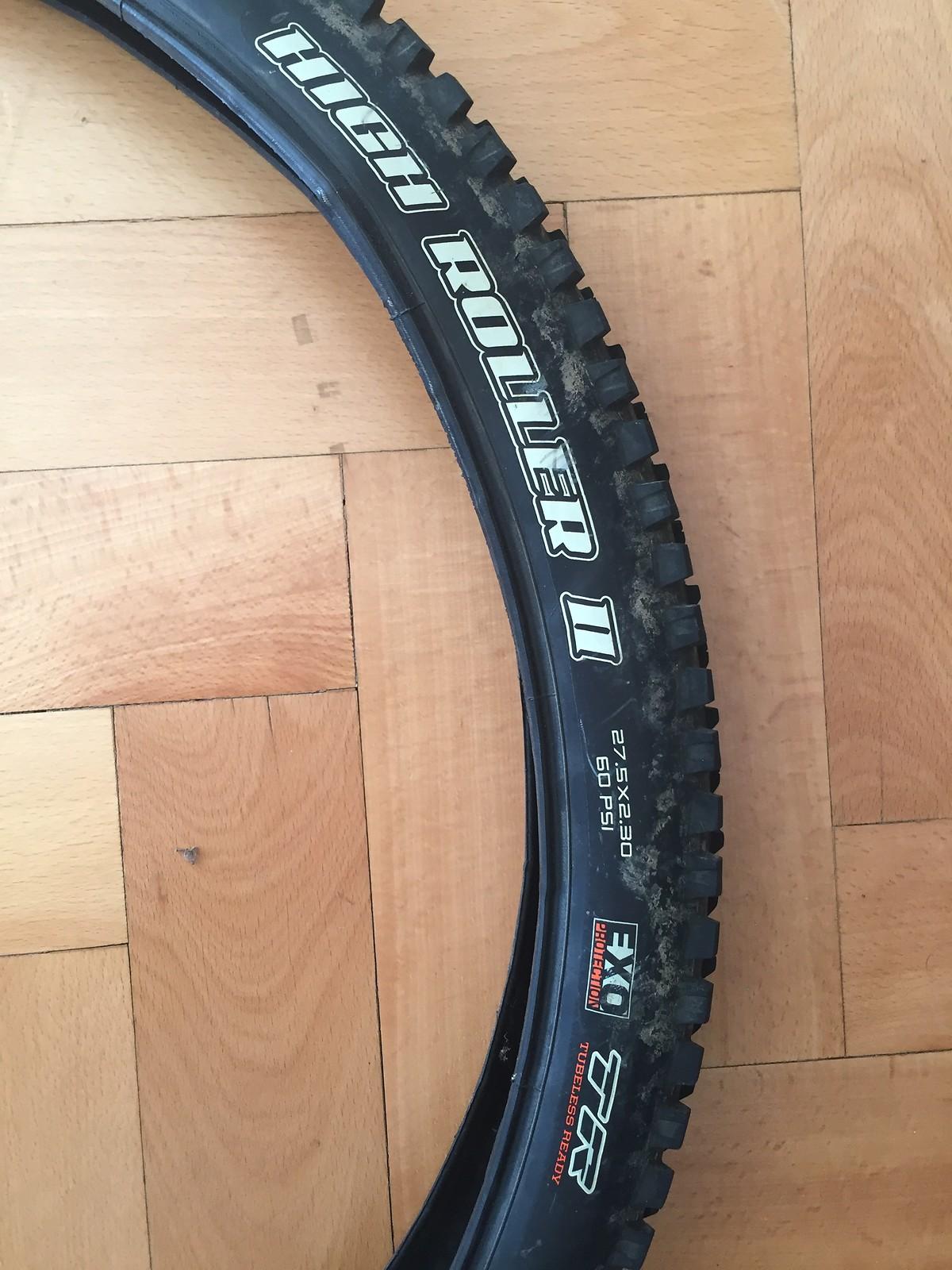 NEW MAXXIS  27.5 X 2.3 High Roller II Tubeless Tire 3C MAXX TERRA EXO TR 650B