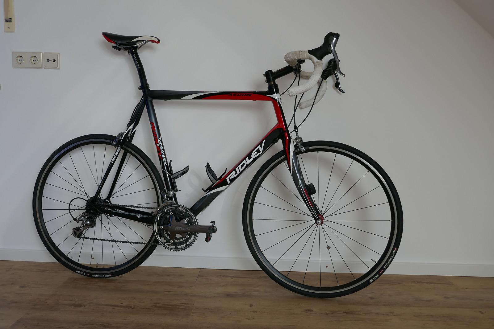 Ridley Aedon Rennrad Rahmengröße 62 für schwere große Fahrer, wenig ...