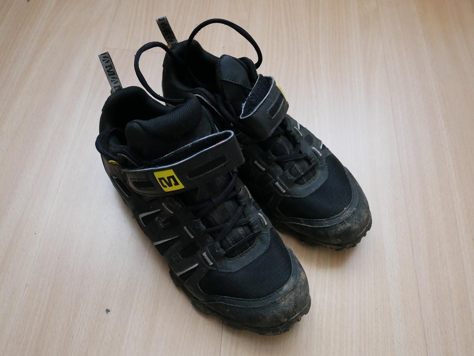 25311b24227bb1 Mavic Alpine Klickpedalschuhe - Gr. 43 1 3 bzw. 9 - AM Schuhe ...