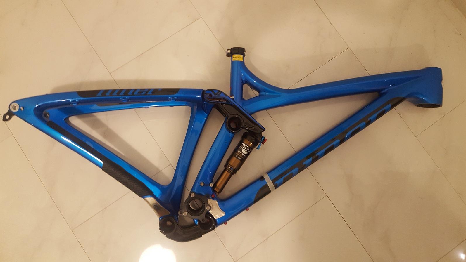 Niner Rahmen Niner RIP 9 RDO Carbon Rally Blue Neu Small | Bikemarkt ...