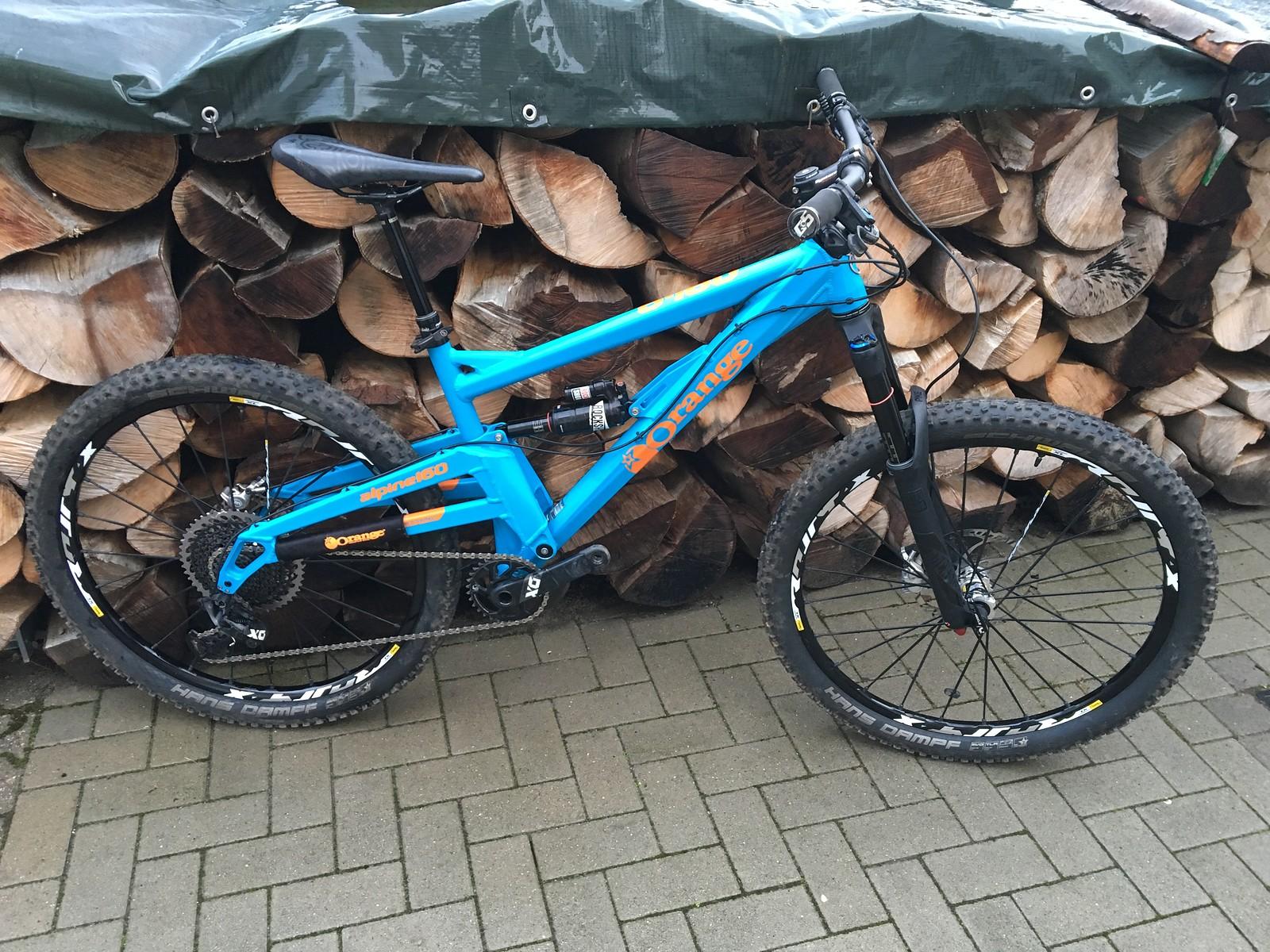 Orange Alpine 160 RS | Bikemarkt.MTB-News.de