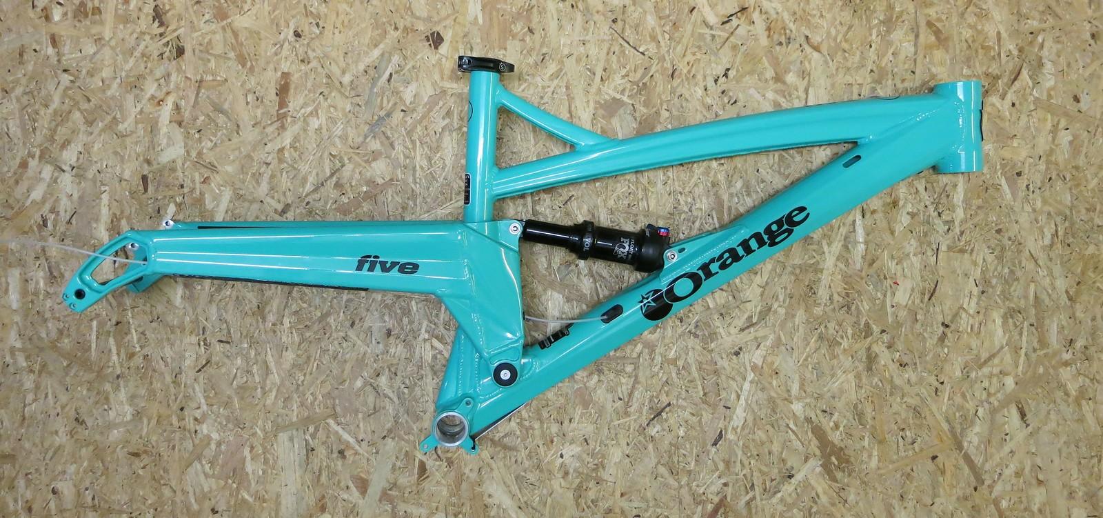 Orange Bikes Uk Five Rahmen 27,5\