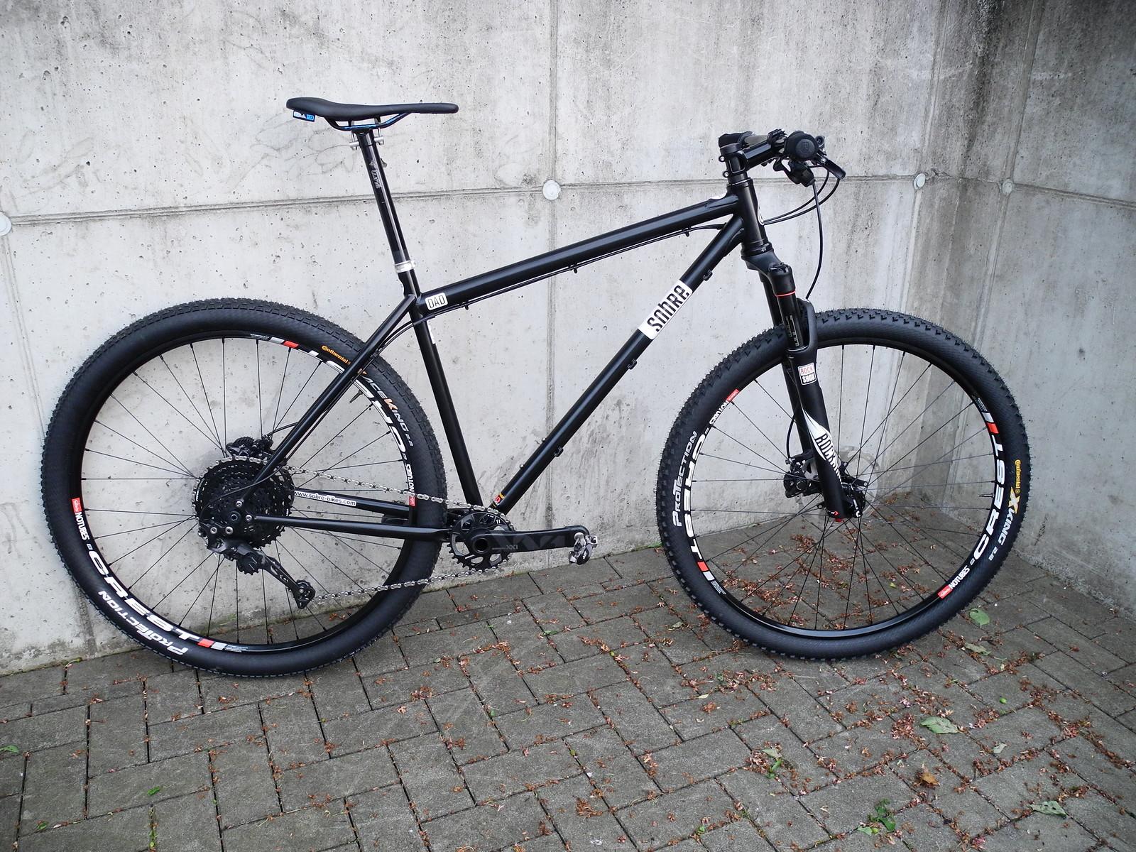 Sobre Bikes Dad - Größe L - schwarz - NUR RAHMEN | Bikemarkt.MTB-News.de