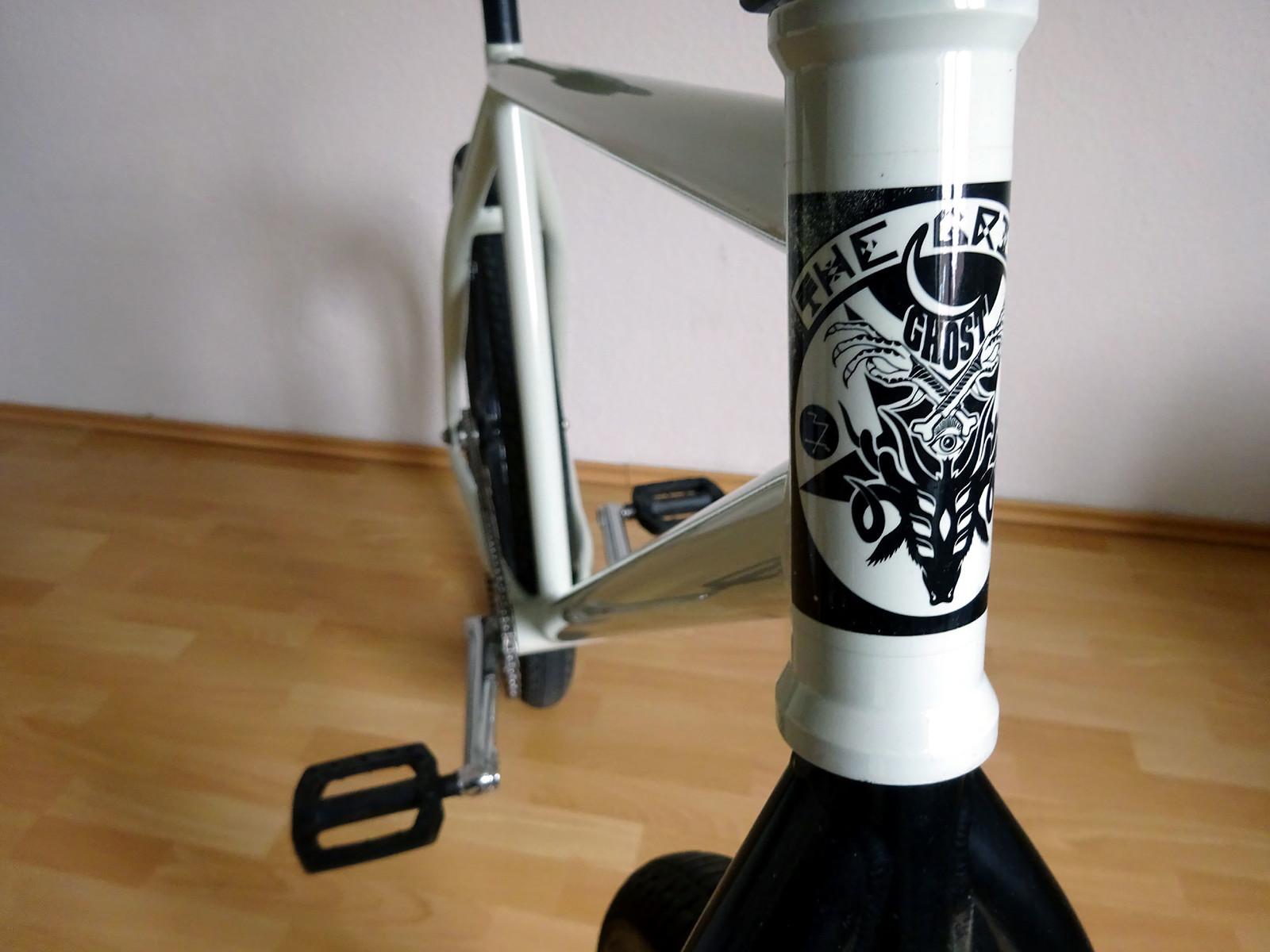 The Grime GHOST FGFS Fixie Rahmen   Bikemarkt.MTB-News.de