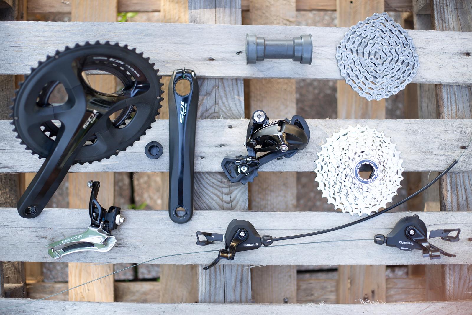 Shimano 105 5800 Rennrad-/Crossschaltgruppe | Bikemarkt.MTB-News.de