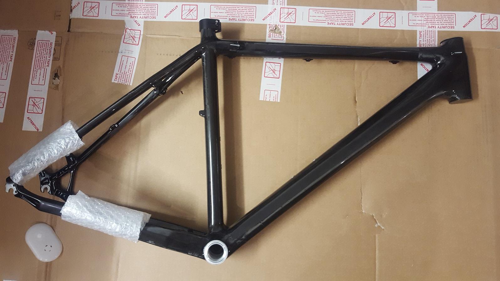 No-Name MTB Rahmen No Name Carbon 27,5 48 52cm L Disc Black Neu ...