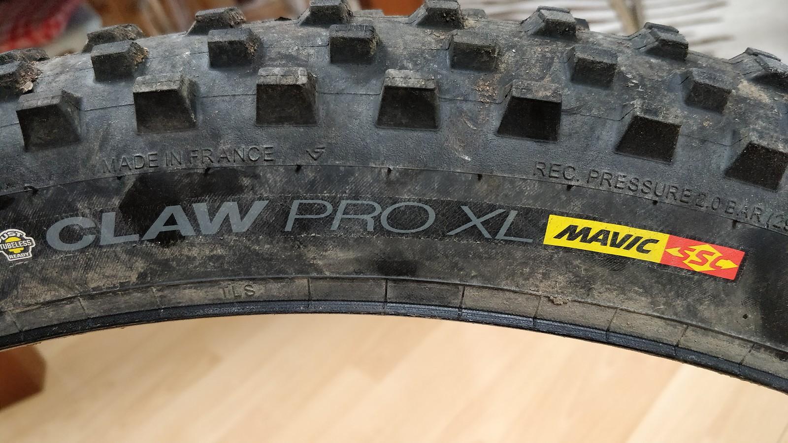 afe50e98810 Mavic Claw XL 27.5 x 2.5 | Bikemarkt.MTB-News.de