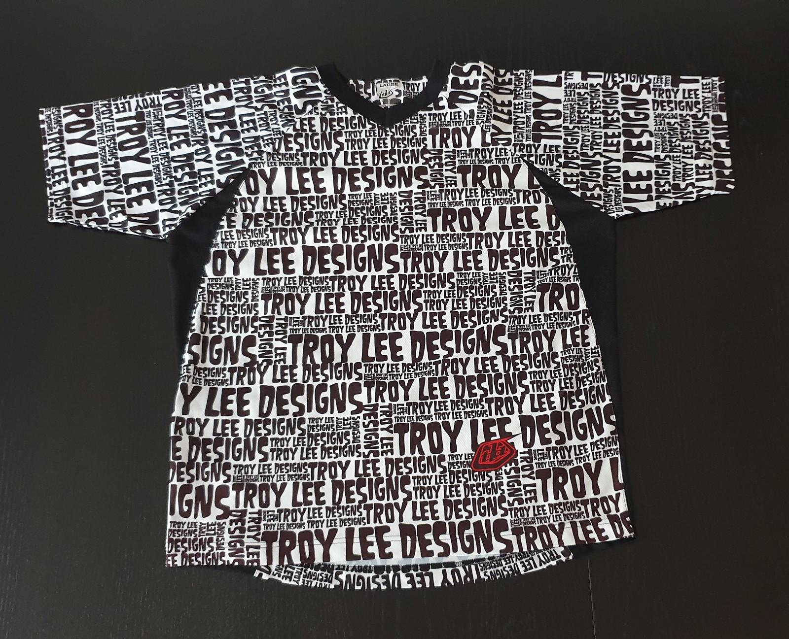 Troy Lee Designs Trikot | Troy Lee Designs Trikot Grosse L Bikemarkt Mtb News De