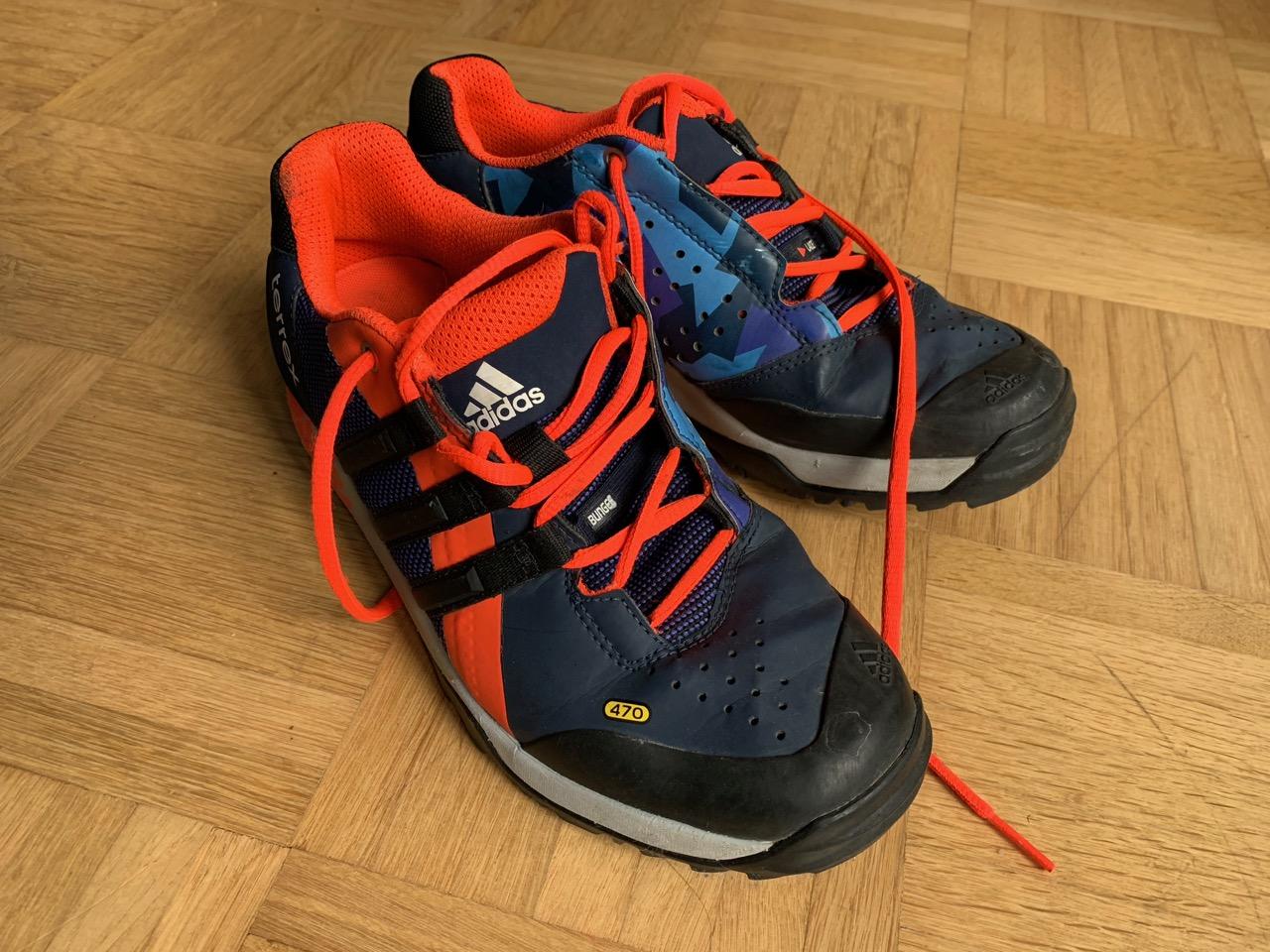Adidas Terrex Trail Cross Schuhe, Größe UK 5 12, EU 38 23