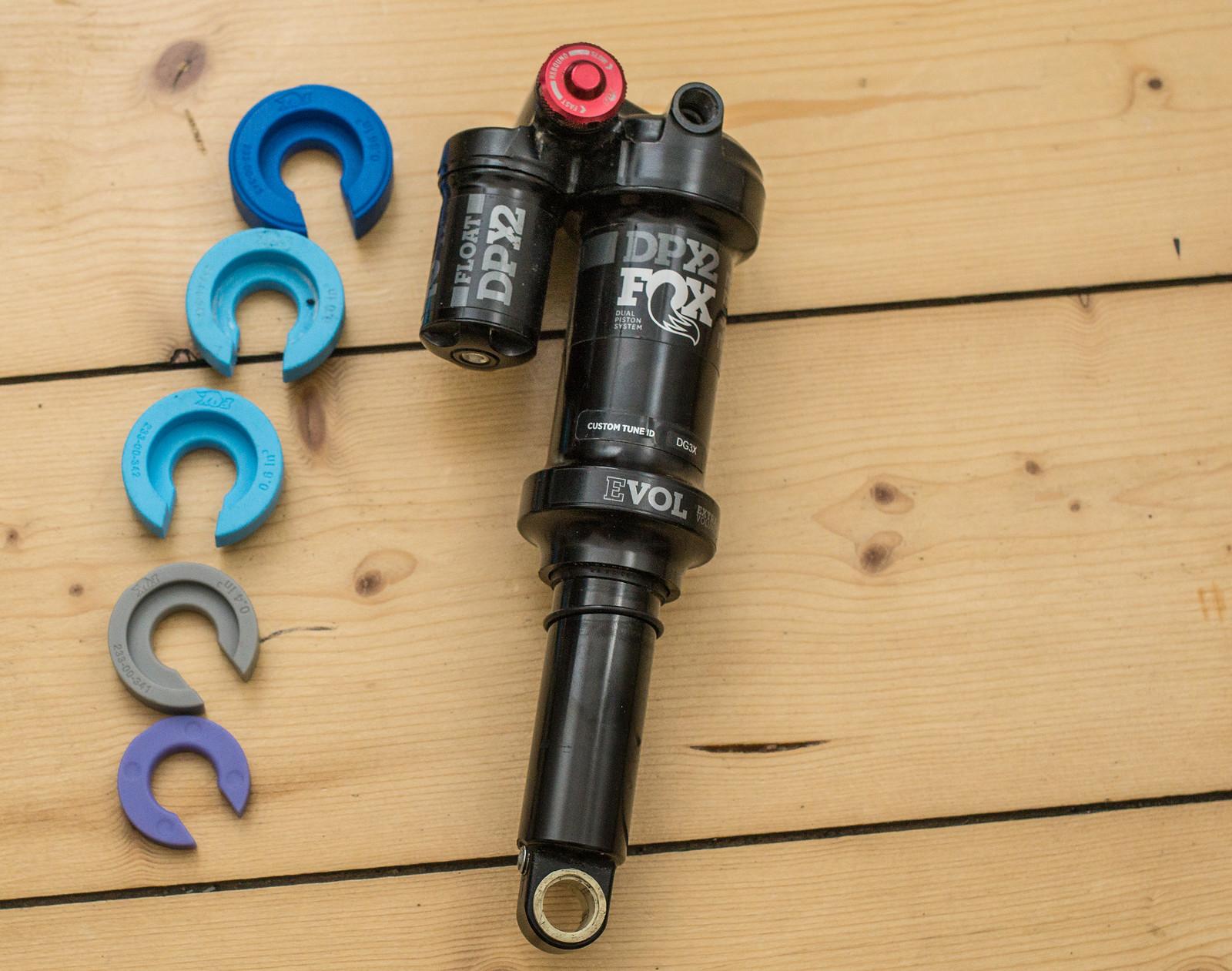 Fox Racing Shox DPX2 Performance Elite - 205mm x 57,5mm