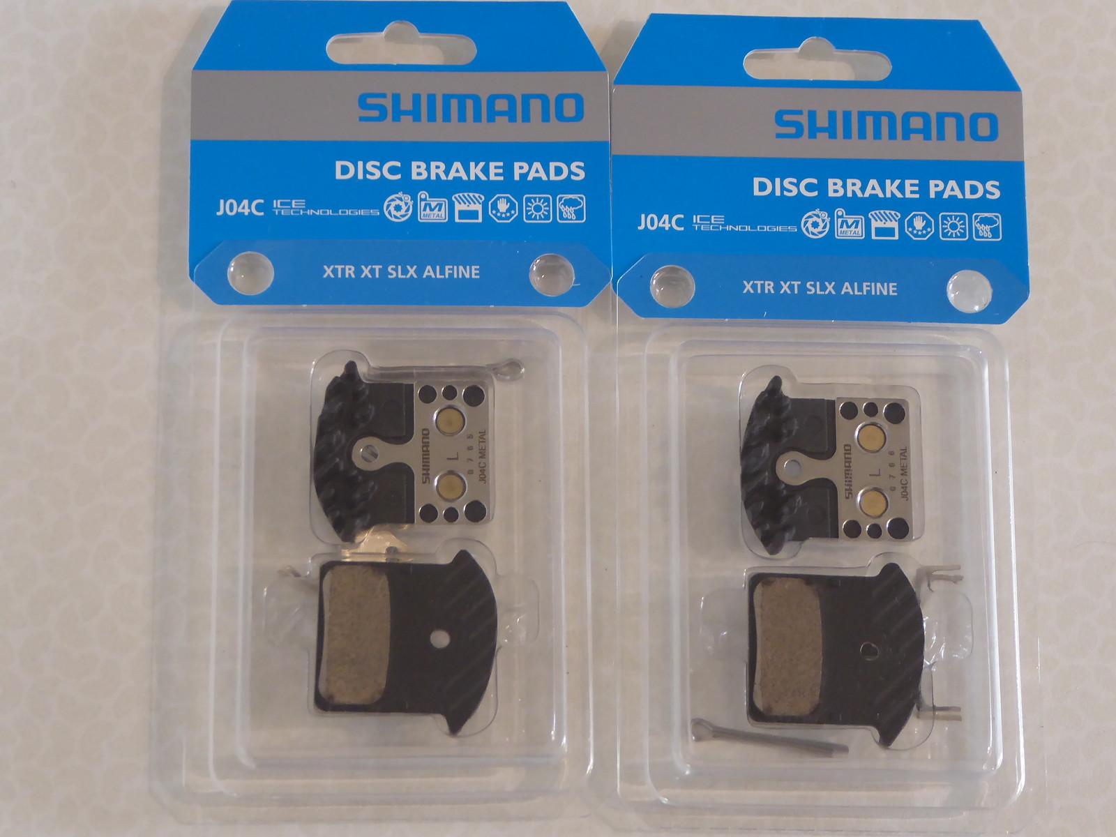 Bicycle Disc Brake Pads Clarks Sintered Shimano XTR//XT//SLX//M985//M785//M675//S700