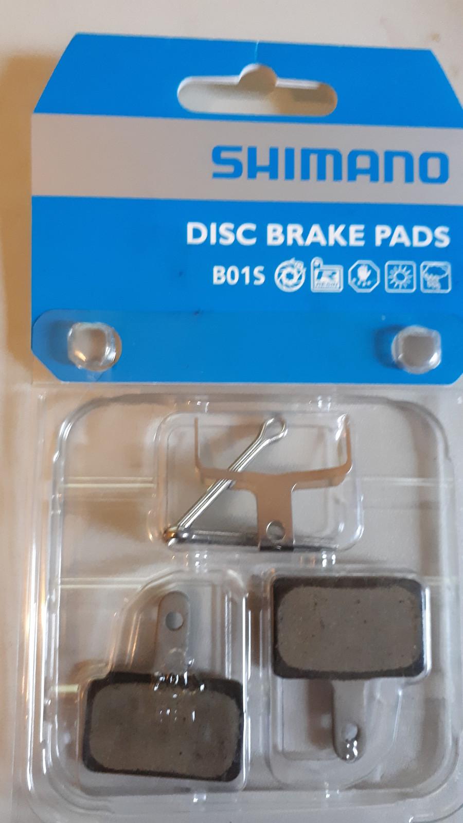 2 Paar Bremsbeläge Disc für Shimano B01S resin organisch Bremsbelag