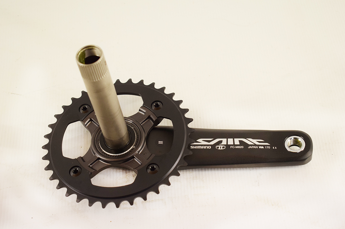 SMLLOW Fahrrad Kurbelgarnitur 170mm Kurbel 104BCD 36T Kettenblatt Set for MTB